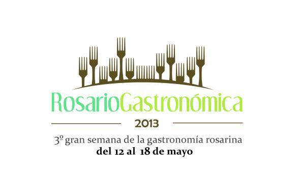 Rosario Gastronómica - Logo Grande 2013