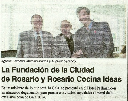 La Fundacion de la Ciudad de Rosario y Rosario Cocina Ideas - 15-08 - Copy