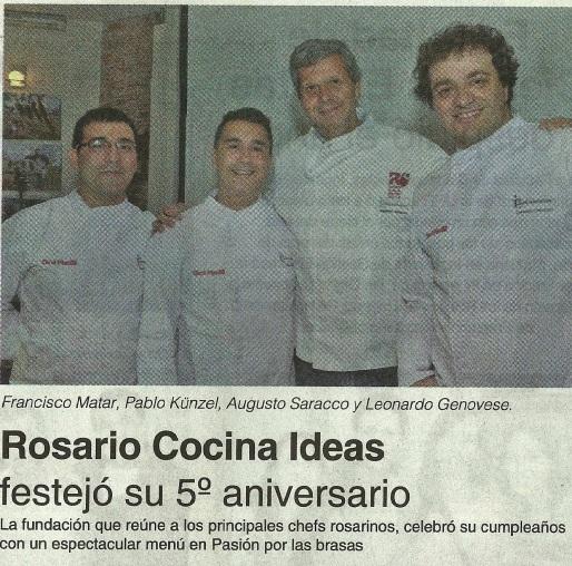 Rosario cocina ideas